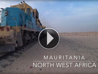 Would You Ride Africa's Worst Train?   18 Hours In A Freight Truck